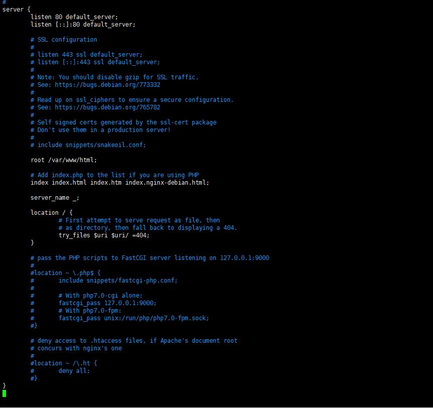 nginx-default-config